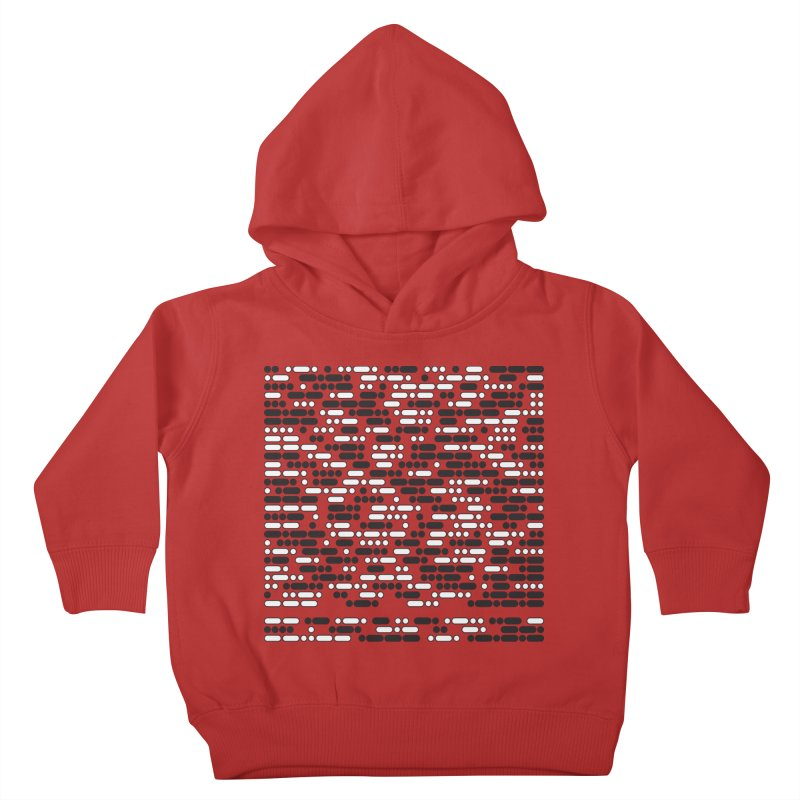 Peace Morse Kids Toddler Pullover Hoody by Puttyhead's Artist Shop