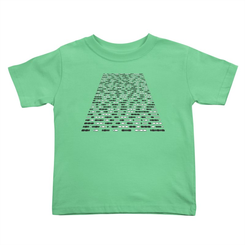 New Hope Morse Crawl Kids Toddler T-Shirt by Puttyhead's Artist Shop