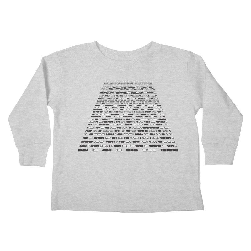 New Hope Morse Crawl Kids Toddler Longsleeve T-Shirt by Puttyhead's Artist Shop