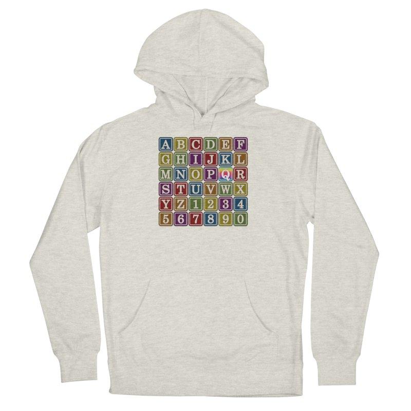 Alphabet Blocks (Q) Men's Pullover Hoody by Puttyhead's Artist Shop