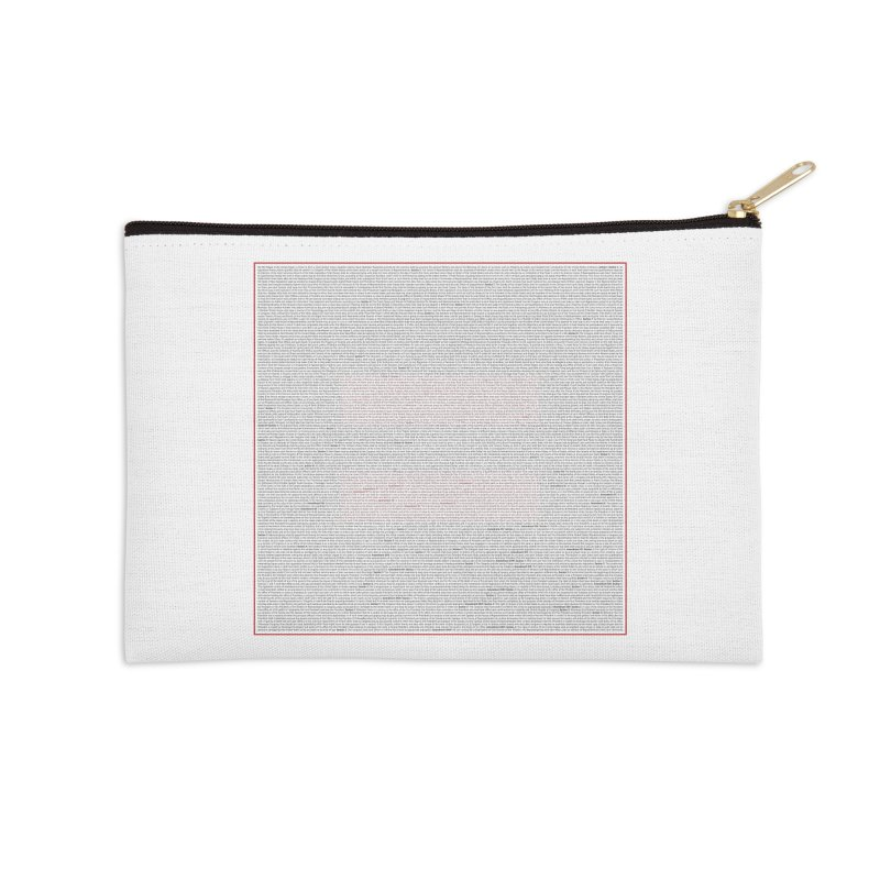 Constitutional Equality Accessories Zip Pouch by Puttyhead's Artist Shop
