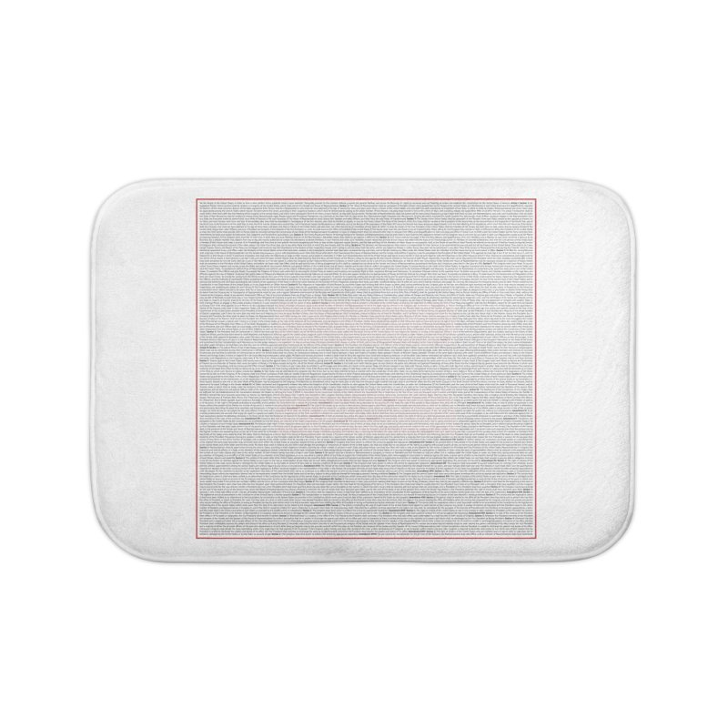 Constitutional Equality Home Bath Mat by Puttyhead's Artist Shop