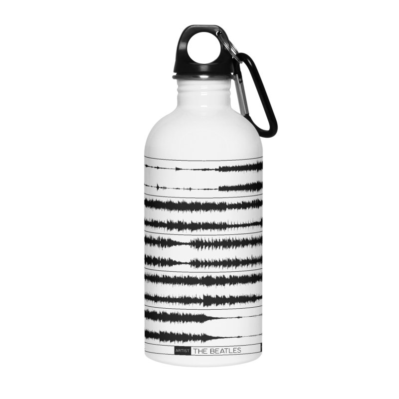 Get Back (Black) Accessories Water Bottle by Puttyhead's Artist Shop