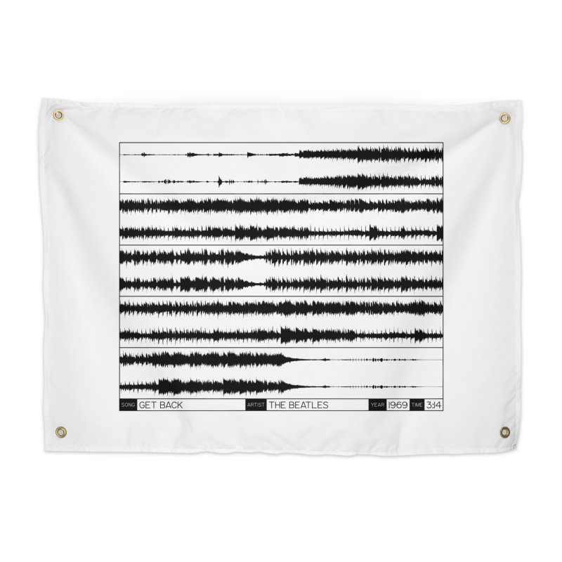 Get Back (Black) Home Tapestry by Puttyhead's Artist Shop
