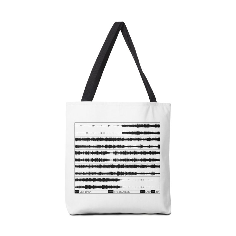 Get Back (Black) Accessories Bag by Puttyhead's Artist Shop