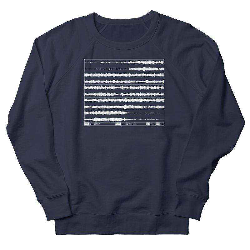 Get Back (White) Women's French Terry Sweatshirt by Puttyhead's Artist Shop