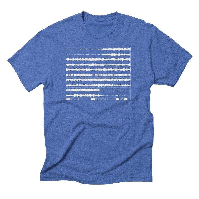 Get Back (White) Men's Triblend T-Shirt by Puttyhead's Artist Shop