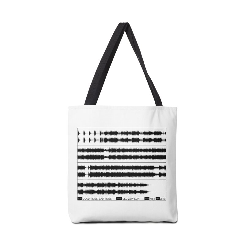Good Times, Bad Times (Black) Accessories Bag by Puttyhead's Artist Shop