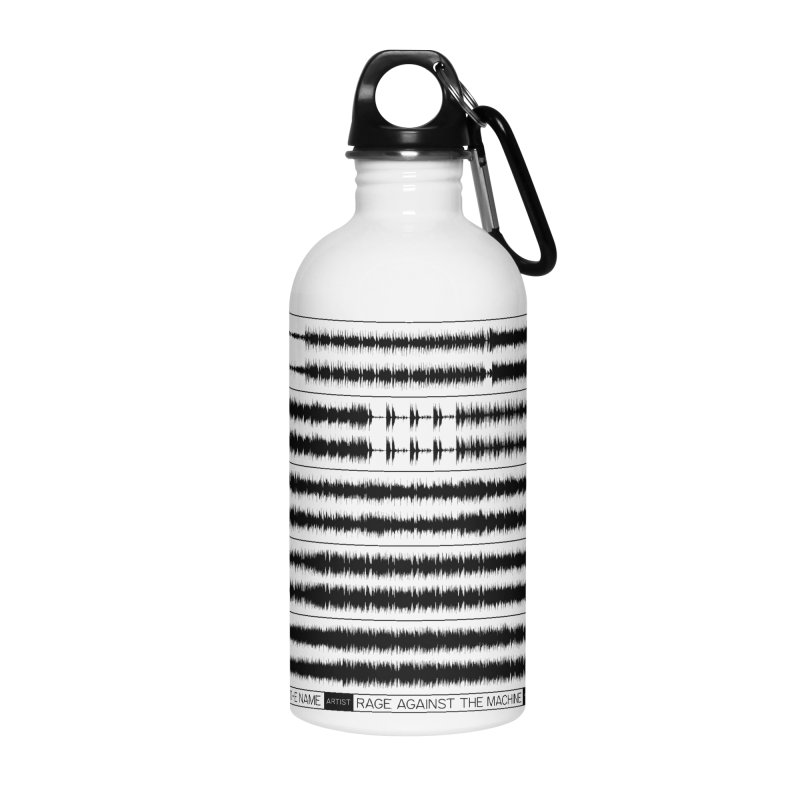Killing In The Name (Black) Accessories Water Bottle by Puttyhead's Artist Shop