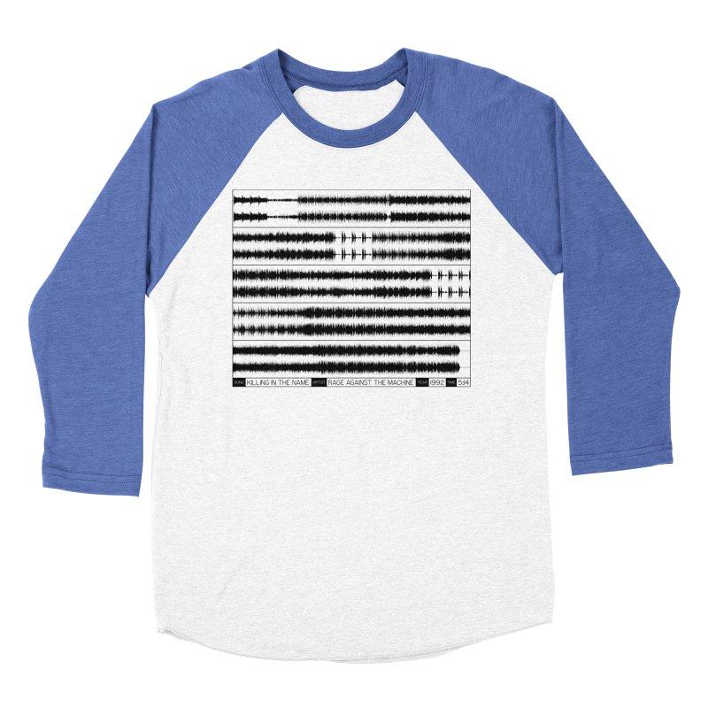 Killing In The Name (Black) Men's Baseball Triblend T-Shirt by Puttyhead's Artist Shop
