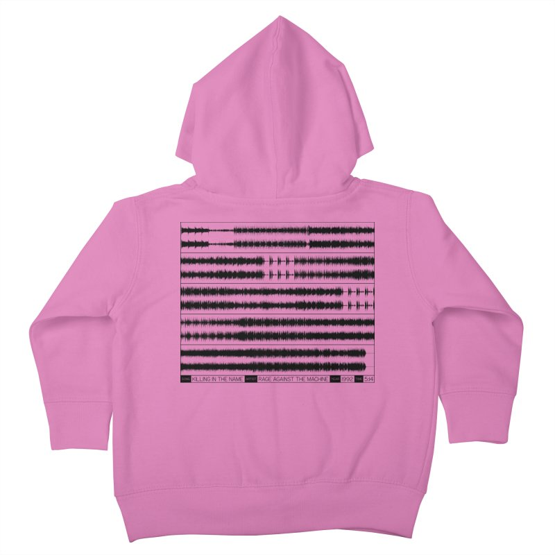 Killing In The Name (Black) Kids Toddler Zip-Up Hoody by Puttyhead's Artist Shop