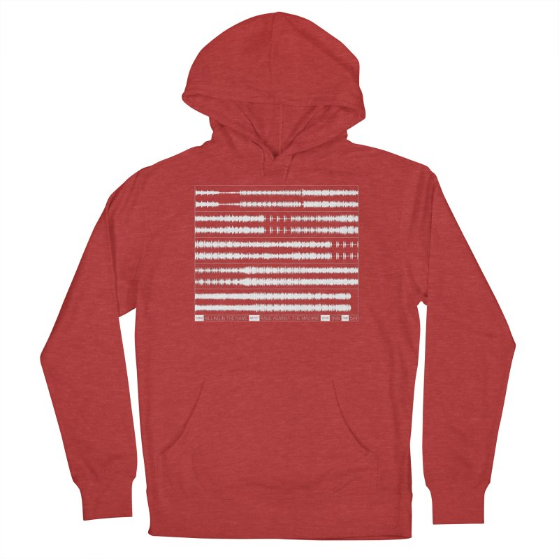Killing In The Name (White) Men's French Terry Pullover Hoody by Puttyhead's Artist Shop