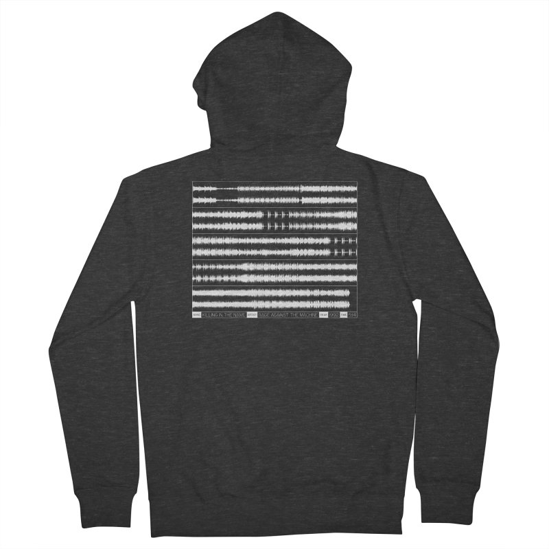 Killing In The Name (White) Men's Zip-Up Hoody by Puttyhead's Artist Shop