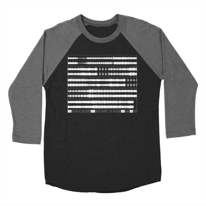 Killing In The Name (White) Women's Baseball Triblend Longsleeve T-Shirt by Puttyhead's Artist Shop