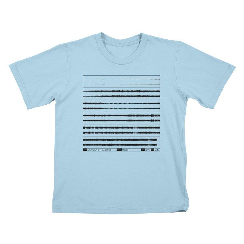 La Villa Strangiato (Black) Kids T-Shirt by Puttyhead's Artist Shop