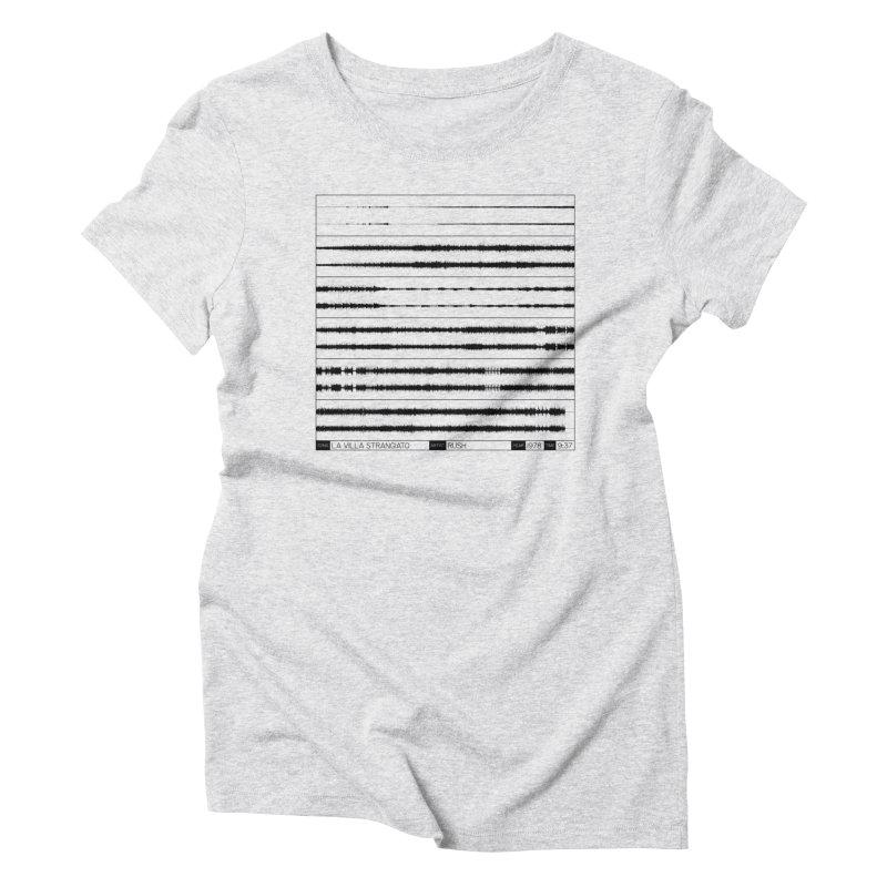 La Villa Strangiato (Black) Women's Triblend T-Shirt by Puttyhead's Artist Shop
