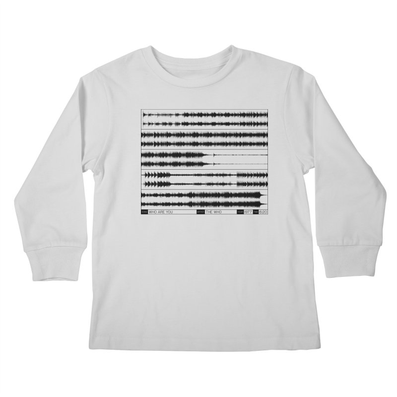 Who Are You (Black) Kids Longsleeve T-Shirt by Puttyhead's Artist Shop