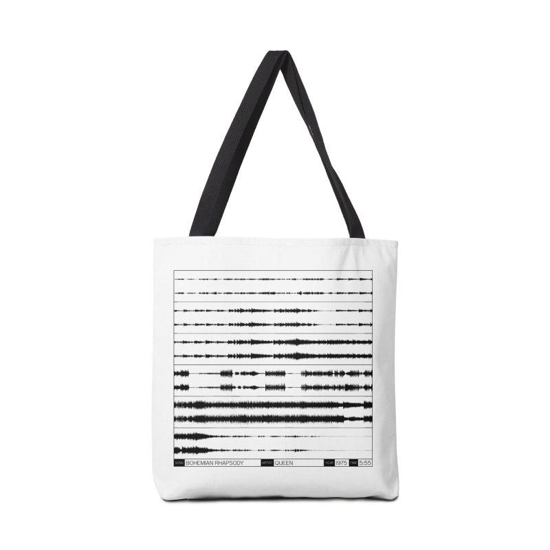 Bohemian Rhapsody (Black) Accessories Bag by Puttyhead's Artist Shop