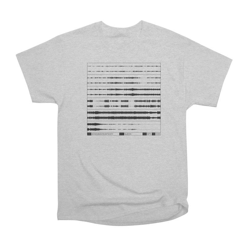 Bohemian Rhapsody (Black) Men's Heavyweight T-Shirt by Puttyhead's Artist Shop