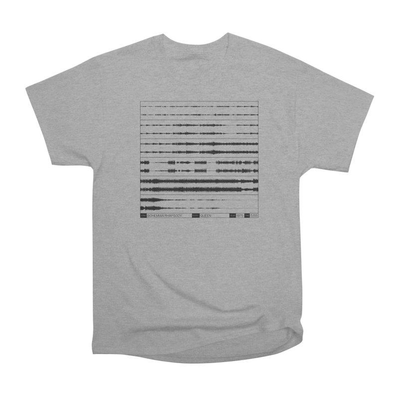 Bohemian Rhapsody (Black) Women's Heavyweight Unisex T-Shirt by Puttyhead's Artist Shop