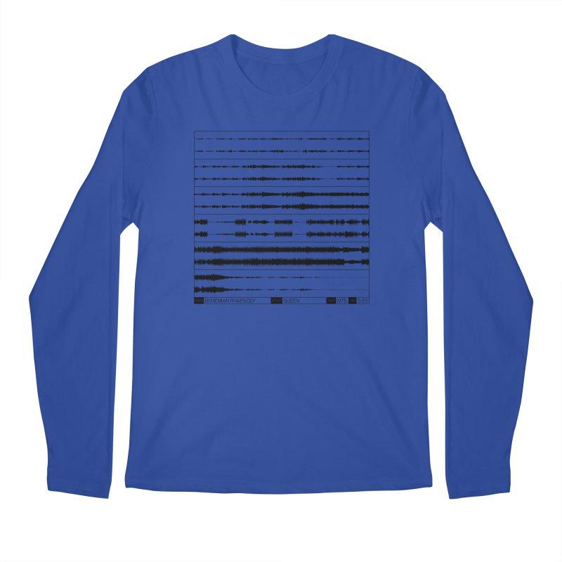 Bohemian Rhapsody (Black) Men's Regular Longsleeve T-Shirt by Puttyhead's Artist Shop