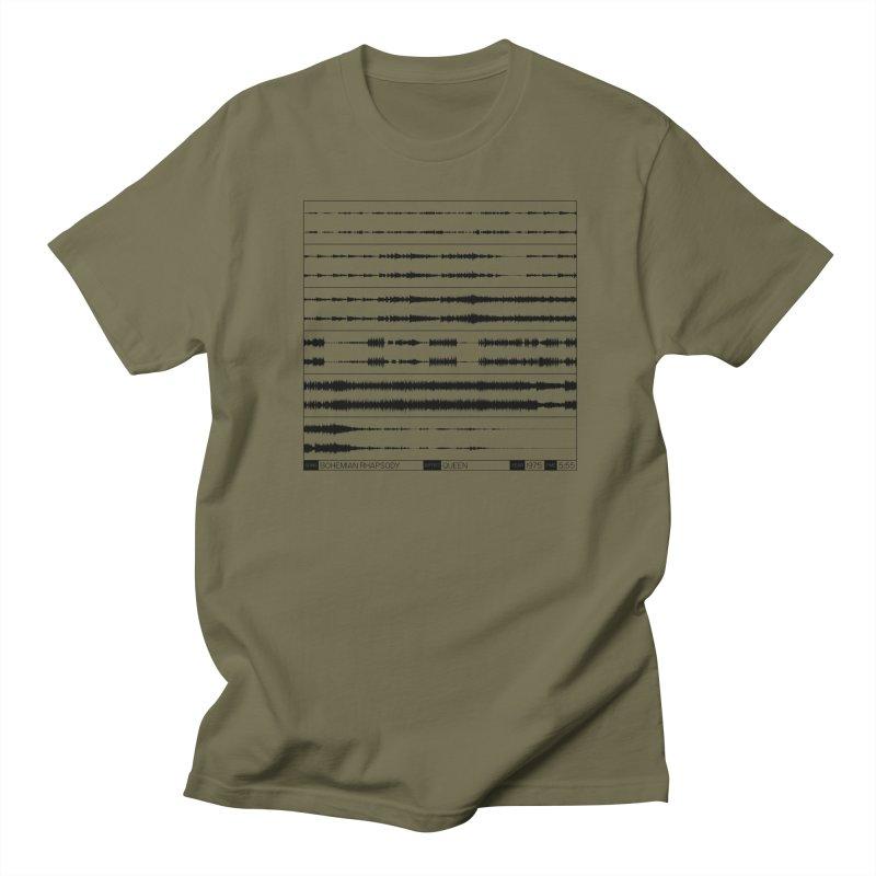 Bohemian Rhapsody (Black) Women's Regular Unisex T-Shirt by Puttyhead's Artist Shop