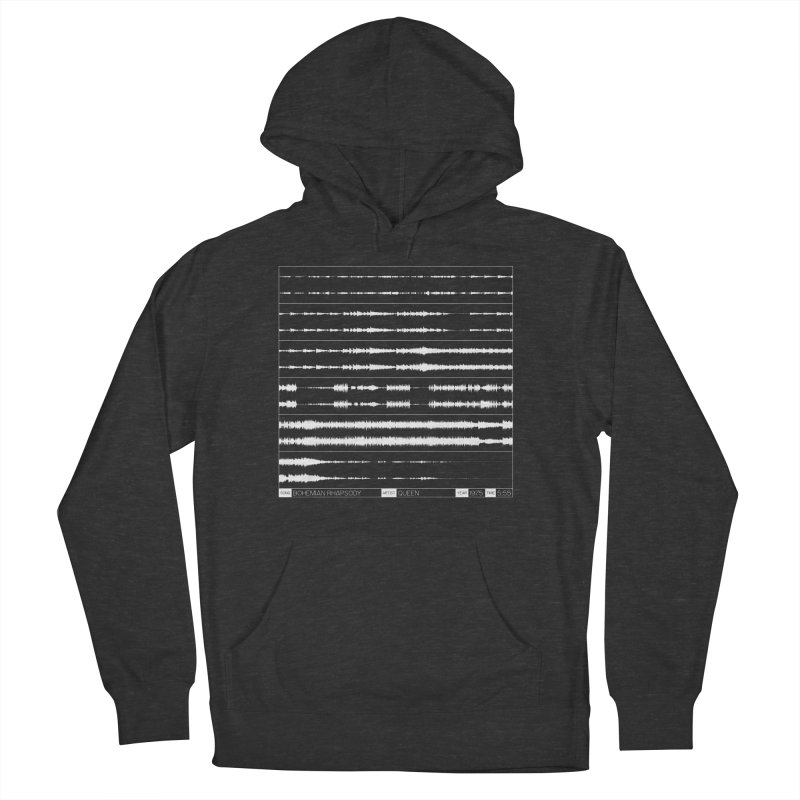 Bohemian Rhapsody (White) Men's French Terry Pullover Hoody by Puttyhead's Artist Shop