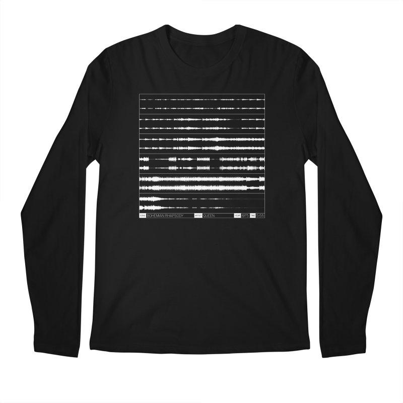 Bohemian Rhapsody (White) Men's Regular Longsleeve T-Shirt by Puttyhead's Artist Shop