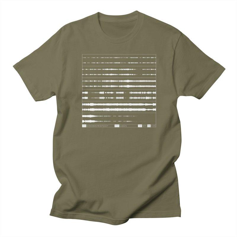 Bohemian Rhapsody (White) Women's Regular Unisex T-Shirt by Puttyhead's Artist Shop