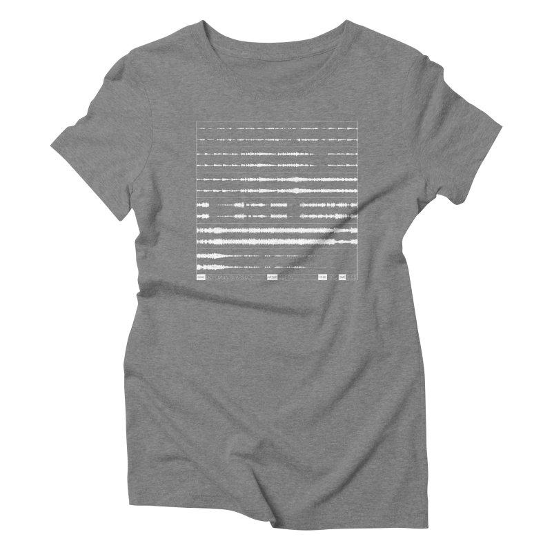 Bohemian Rhapsody (White) Women's Triblend T-Shirt by Puttyhead's Artist Shop