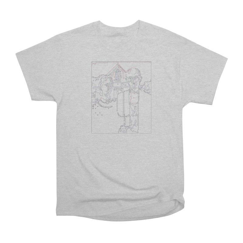 American Gothic - Digital Lines Men's Heavyweight T-Shirt by Puttyhead's Artist Shop