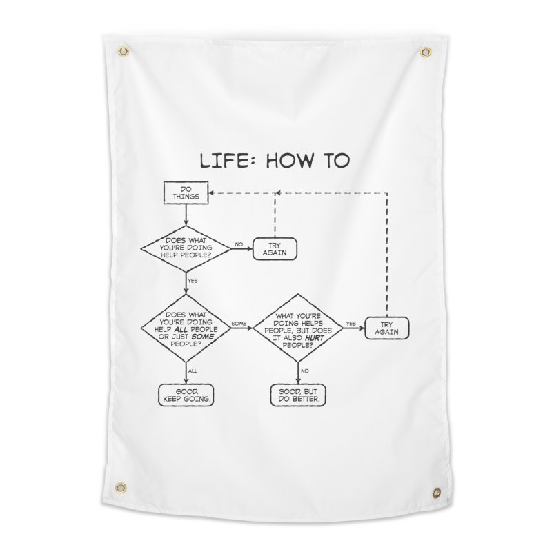 How To Life Home Tapestry by Puttyhead's Artist Shop