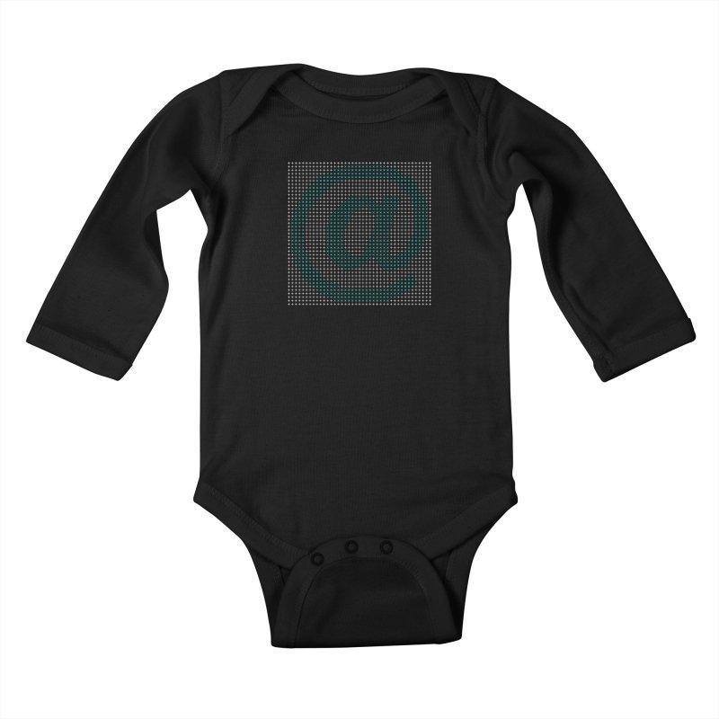 @ me - Dark Kids Baby Longsleeve Bodysuit by Puttyhead's Artist Shop