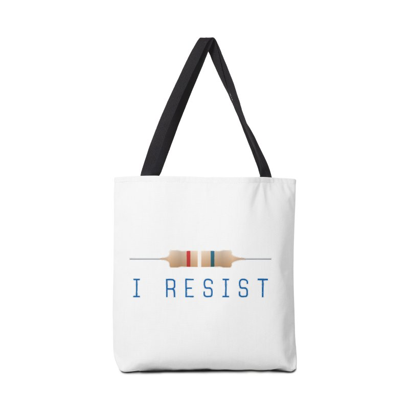 I Resist Accessories Tote Bag Bag by Puttyhead's Artist Shop