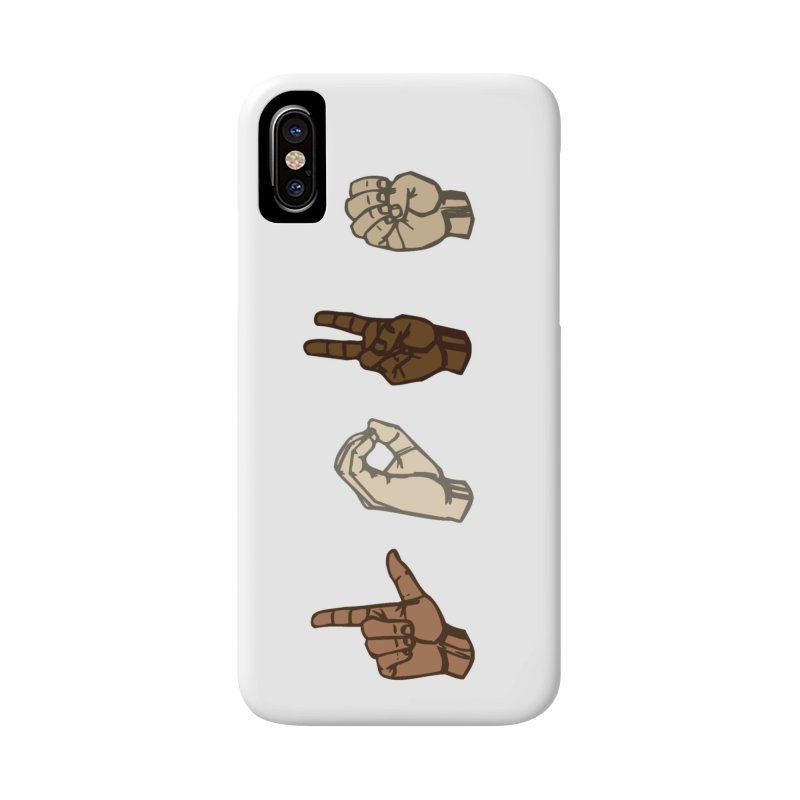 Love Sign Accessories Phone Case by Puttyhead's Artist Shop