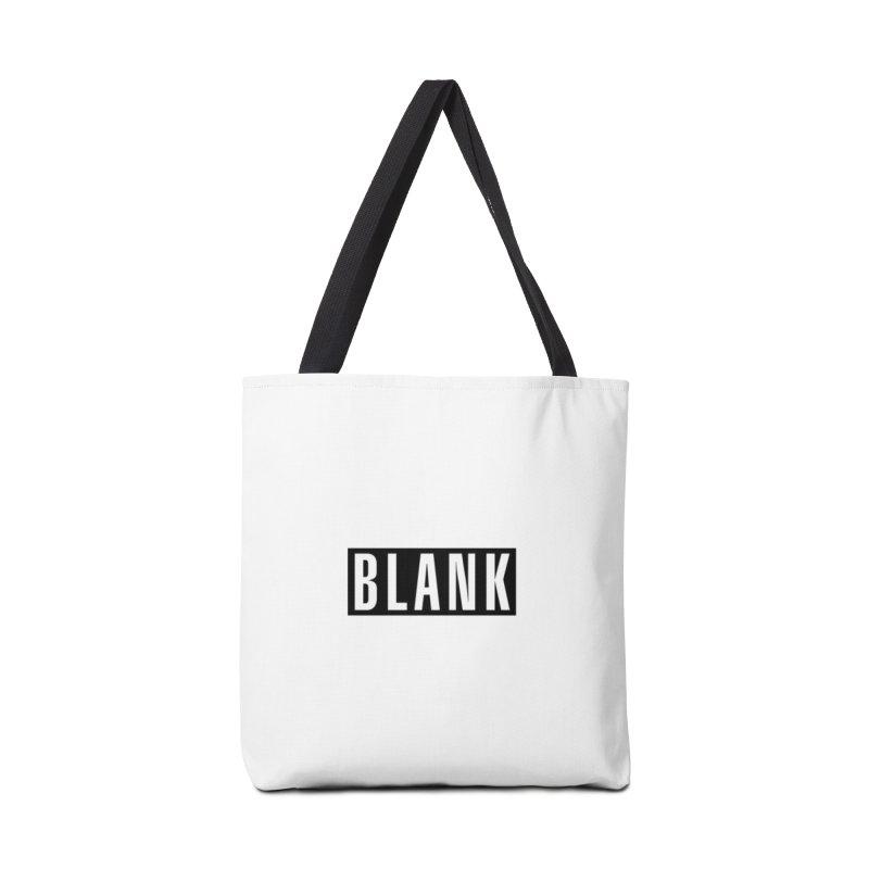 BLANK T-shirt Accessories Bag by Puttyhead's Artist Shop