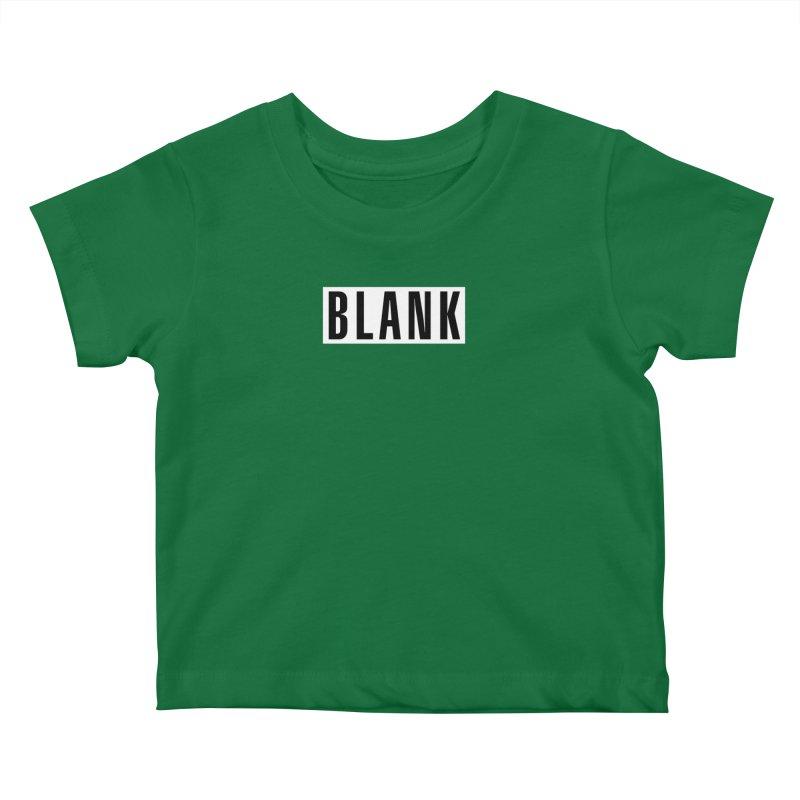 BLANK T-shirt (dark) Kids Baby T-Shirt by Puttyhead's Artist Shop