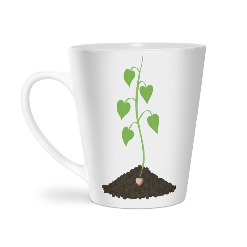 Love grows Accessories Latte Mug by Puttyhead's Artist Shop