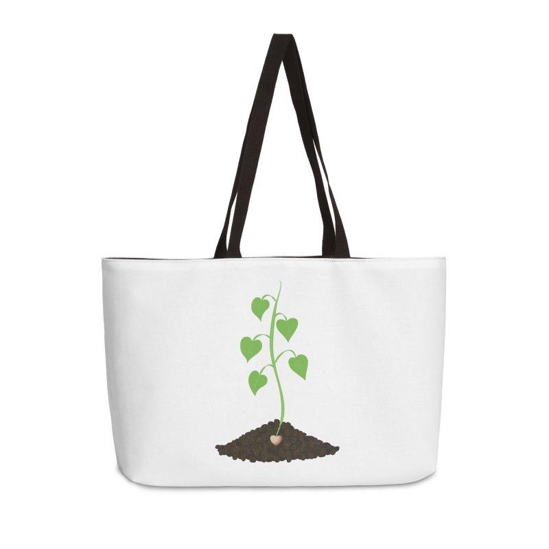 Love grows Accessories Weekender Bag Bag by Puttyhead's Artist Shop