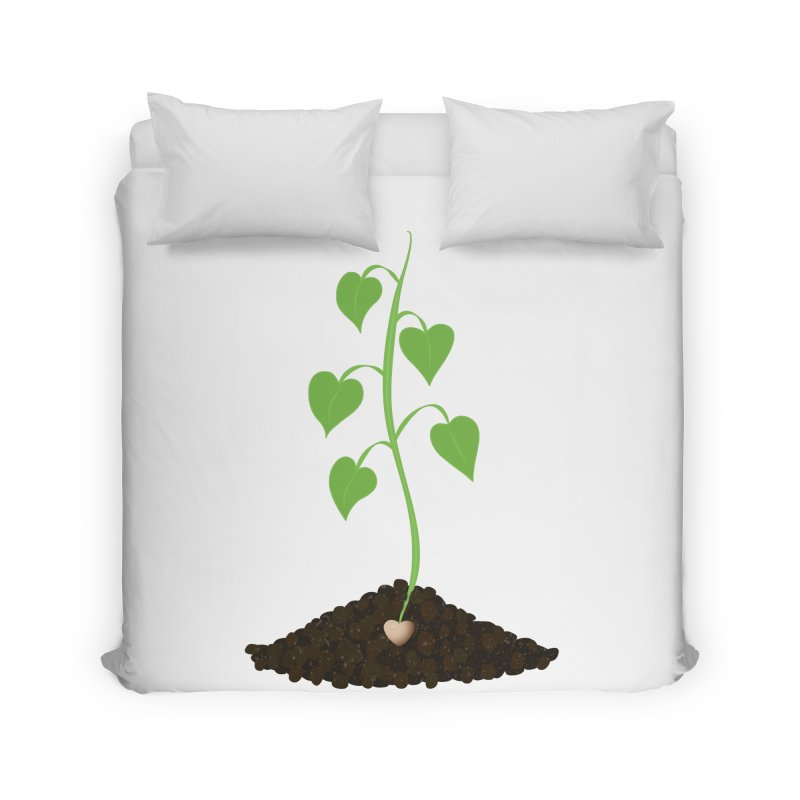 Love grows Home Duvet by Puttyhead's Artist Shop