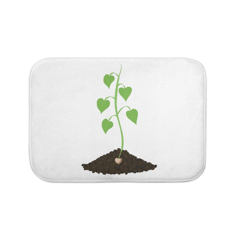 Love grows Home Bath Mat by Puttyhead's Artist Shop