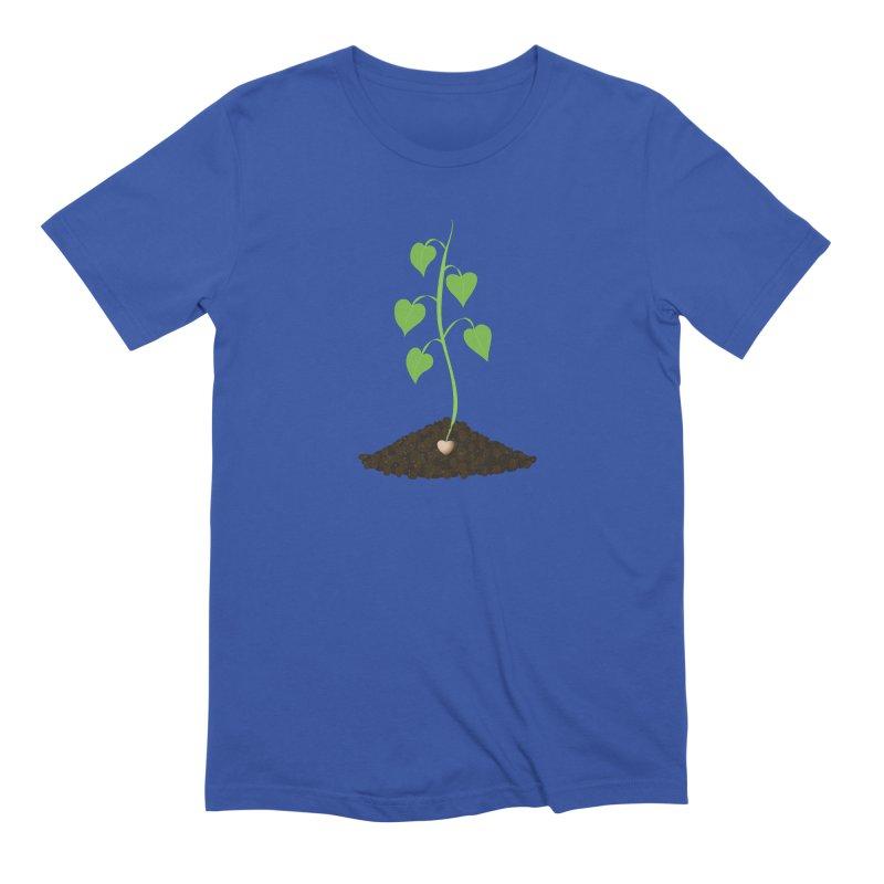 Love grows Men's Extra Soft T-Shirt by Puttyhead's Artist Shop