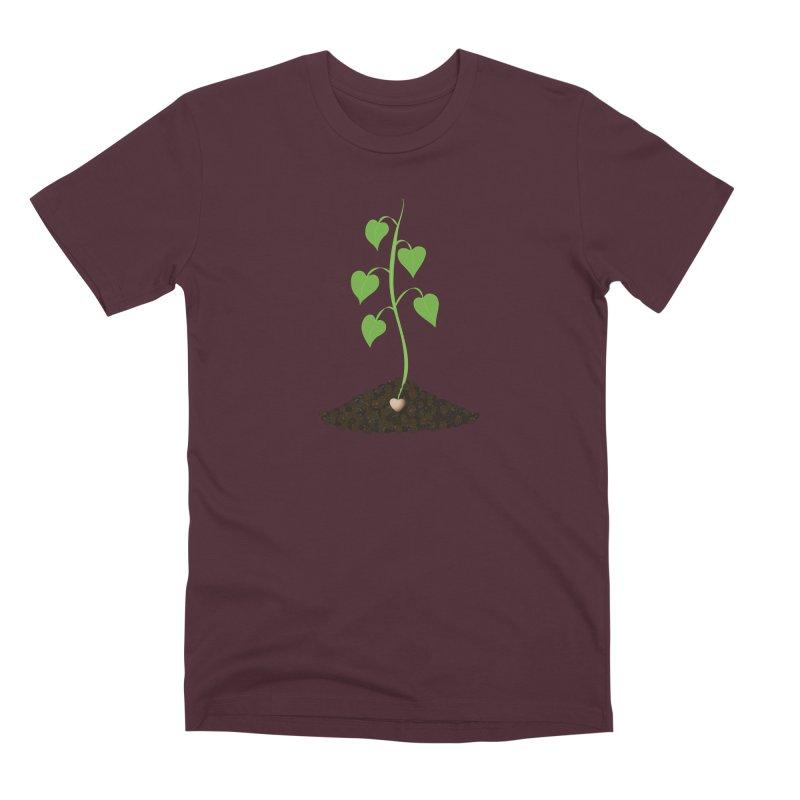 Love grows Men's Premium T-Shirt by Puttyhead's Artist Shop