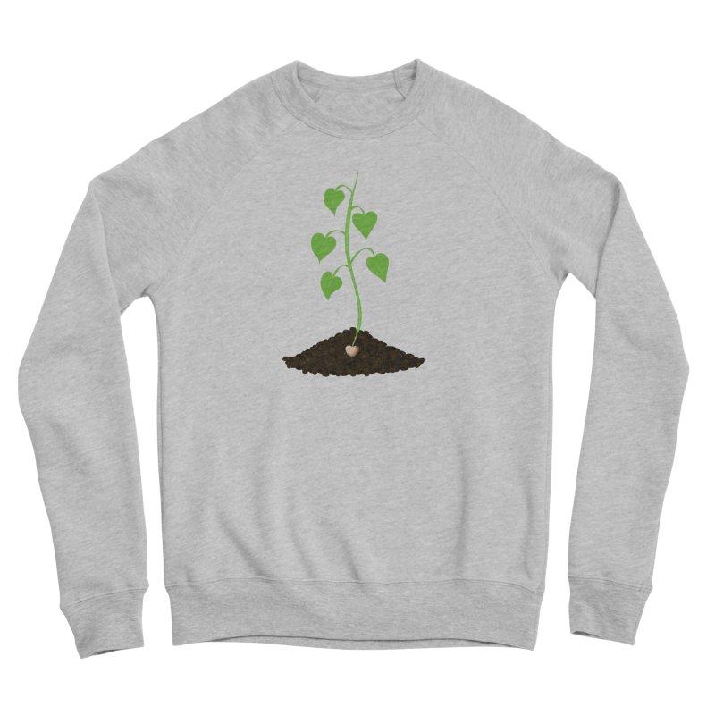 Love grows Women's Sponge Fleece Sweatshirt by Puttyhead's Artist Shop