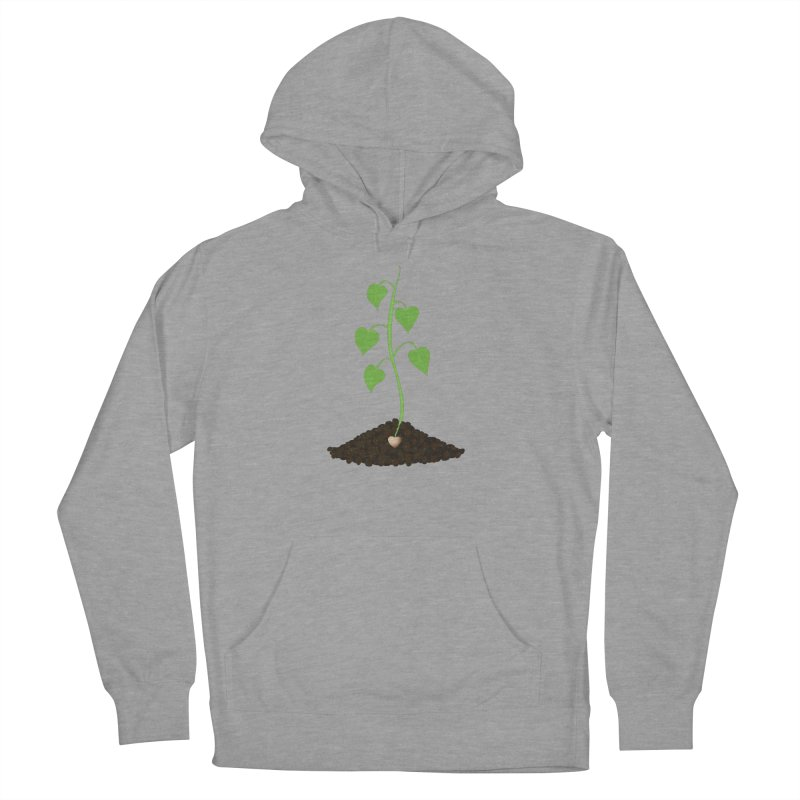 Love grows Women's French Terry Pullover Hoody by Puttyhead's Artist Shop