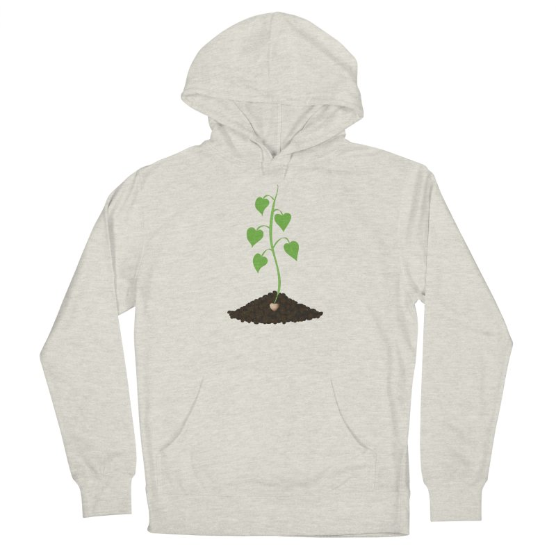 Love grows Men's French Terry Pullover Hoody by Puttyhead's Artist Shop