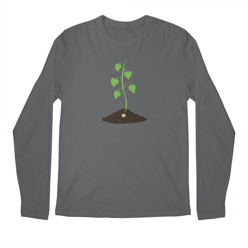 Love grows Men's Longsleeve T-Shirt by Puttyhead's Artist Shop