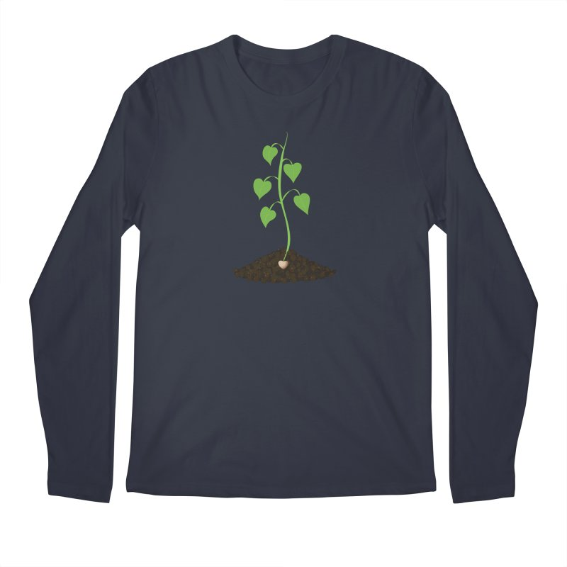 Love grows Men's Regular Longsleeve T-Shirt by Puttyhead's Artist Shop