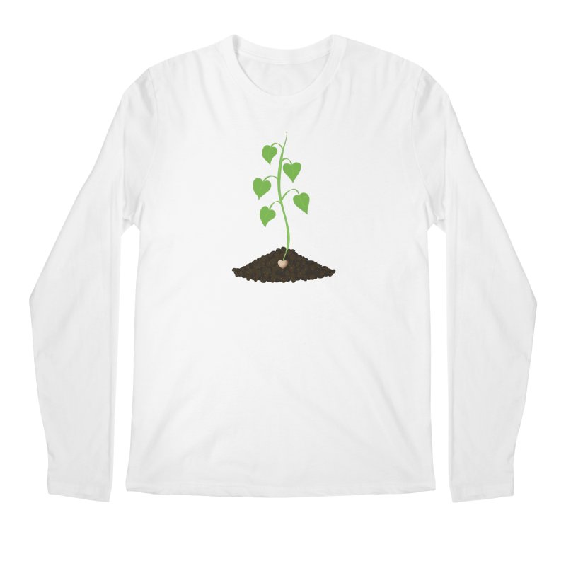Love grows Men's Regular Longsleeve T-Shirt by Puttyhead's Artist Shop