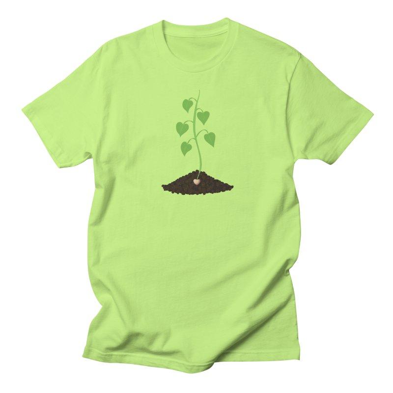 Love grows Men's Regular T-Shirt by Puttyhead's Artist Shop